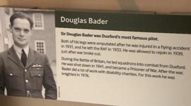 Douglas Bader and his links with Duxford