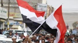 Yemeni flags