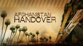 Afghanistan handover