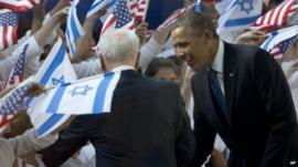 President Obama in Israel