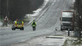 PSNI close Glenshane Pass
