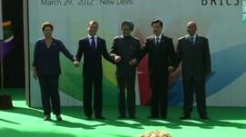 Brics meeting 2012