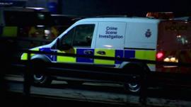 Crime Scene Investigation van
