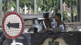 Police in Sri Lanka
