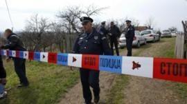 Policeman in Velika Ivanca