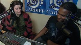 Carers Becki Holder and Christopher-John Nation