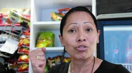 A Venezuelan resident