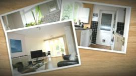 Photos of the interior of a property