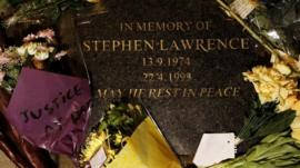 Memorial to Stephen Lawrence