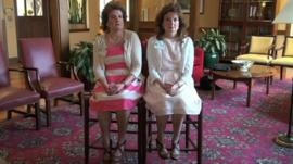 Tina Maggio and Gina Ranieri-Bender