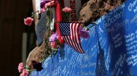 Tributes to Boston bomb victims