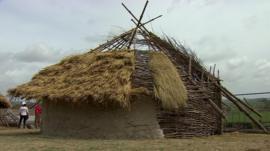 Neolithic hut