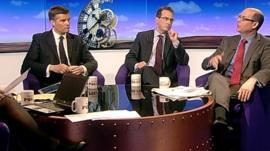 Mark Harper, Owen Smith and Nick Robinson