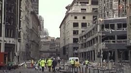 Bishopsgate bombing in 1993
