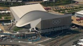 Rowecord Engineering were behind the roof of the London Olympic's aquatic centre