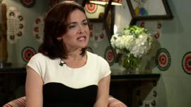 Sheryl Sandberg on The Andrew Marr Show