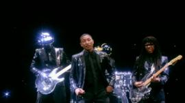 Daft Punk featuring Pharrell Williams
