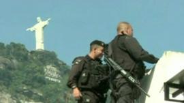 Police in Rio