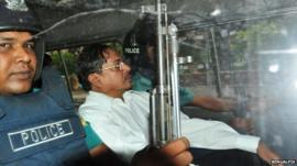 Muhammad Kamaruzzaman deputy head of the Jamaat-e-Isami Political Party