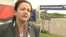 Silverstone Leisure Development Director Sally Reynolds