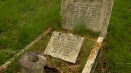 Veteran's grave