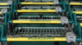 Morrisons trollies