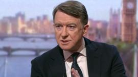 Lord Mandelson on the Andrew Marr Show