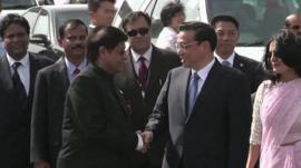China leader Li Keqiang arrives in India
