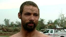 Oklahoma tornado survivor, Lando Hite