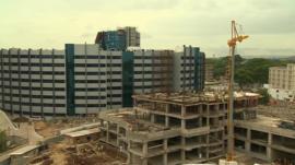 Building site in Ghana