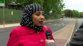 Woolwich resident and eyewitness, Lucky Awale