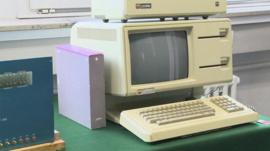 Original Apple computer