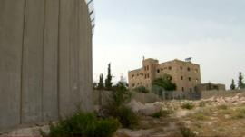The Cliff Hotel in Abu Dis, on the outskirts of Jerusalem