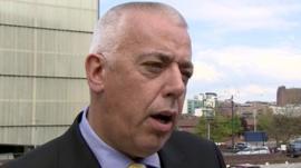Detective Chief Superintendent Tim Keelan of Merseyside Police
