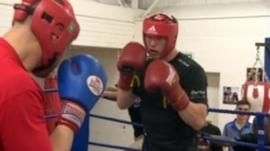 Gladsaxe Boxing Club from Denmark visits Nottingham