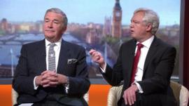 Lord West and David Davis on the Andrew Marr Show
