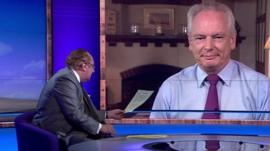 Andrew Neil and Francis Maude