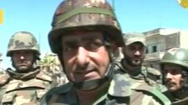 Syrian army commander