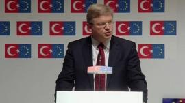 EU Enlargement Commissioner Stefan Fuele