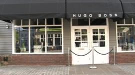Hugo Boss store in Pingle Drive