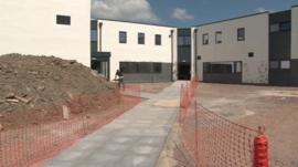 The new school building in Chulmleigh