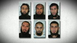 The six men who have been jailed for planning to bomb an EDL rally