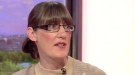 Abuse survivor Sarah Kelly