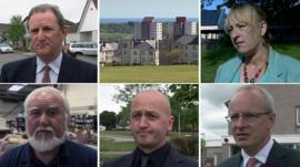 Candidates from smaller parties in the Aberdeen Donside by-election