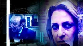 Andrew Neil and Emily Maitlis