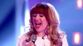 The Voice's Leah McFall