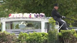Fiona Anderson's funeral