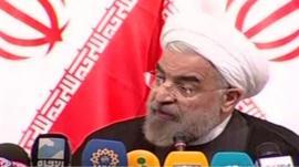 Iranian President-elect Hasan Rouhani