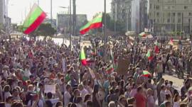 Protests in Bulgaria