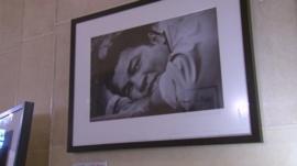 Photograph of Muhammad Ali.